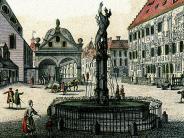 Historische Feuerwehr: Aus der alten Kornschranne am Moritzplatz wurde ein Spritzenhaus