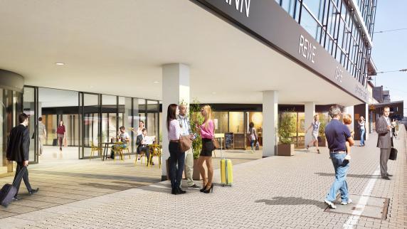 """""""Fuggerstadt-Center"""": Eröffnung am Hauptbahnhof Augsburg verschiebt sich auf 2018"""