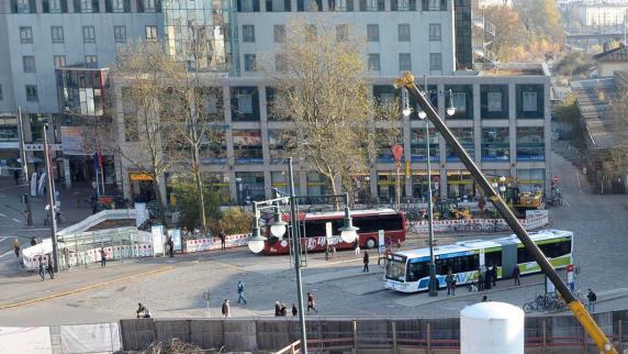 Augsburg: Stadt greift Bahn wegen gefällter Bäume am Hauptbahnhof an