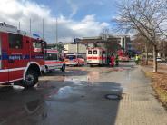 Augsburg: Schüler verletzt sich bei Feuer in der FOS