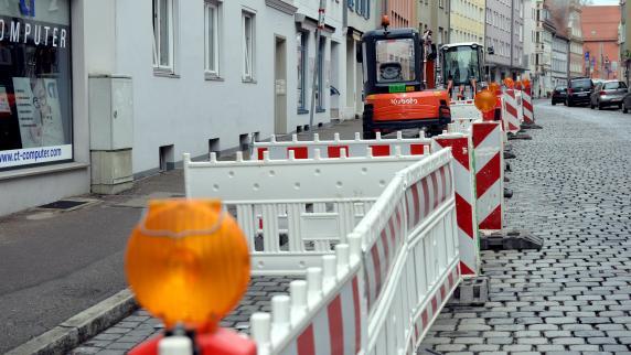 Augsburg: Bauarbeiten in der Bäckergasse starten