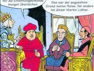 Comic: Die Abrafaxe begleiten Luther nach Augsburg