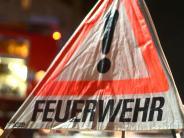 Kreis Donau-Ries: Feuerwehr bringt Silobrand bei Holzheim unter Kontrolle