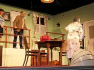 Theaterpremiere: Turbulenzen im geheimen Landhaus