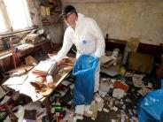 Porträt: Augsburger Tatortreiniger: Er beseitigt oft die Spuren des Sterbens