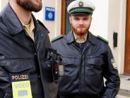 Augsburg: So läuft der Test mit Body-Cams in Augsburg