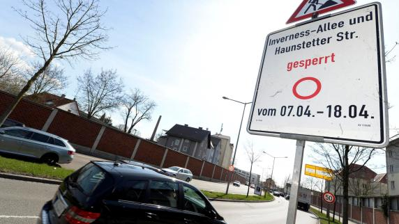 Augsburg: Sperrung in den Osterferien betrifft täglich 42.000 Autofahrer