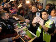 Bilder: Fans in Chicago feiern Bastian Schweinsteiger