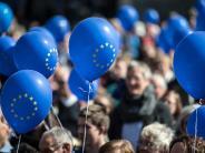 """Bürgerbewegung: Ein Jahr """"Pulse of Europe"""": Was haben die Kundgebungen gebracht?"""
