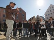 Augsburg: Willkommenstour in Augsburg: So sehen Flüchtlinge die Stadt