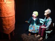 Leichte Sprache: Es gibt eine neue Ausstellung in der Augsburger Puppen-Kiste