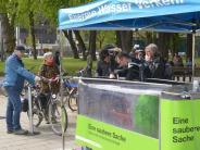 Augsburg: Fahrradwaschanlage am Königsplatz vorgestellt