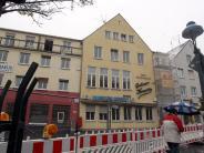 : Ein Traditionslokal muß weichen - der Grüne Kranz wird abgerissen