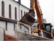 Augsburg: Bagger macht den Weg frei fürs Hospiz