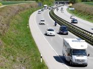 Augsburg: Mehr Platz für Autos auf der B17: Dritter Fahrstreifen kommt