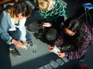 Ausstellung: Junge Künstler draußen auf einer Insel: Was kommt dabei raus?