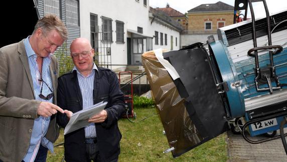 Dreharbeiten: Was Jan Josef Liefers an Augsburg gefällt