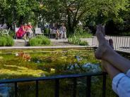 Bildergalerie: Sommer im Mai: Augsburg genießt das Sonnen-Wochenende