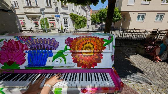 Augsburg: Die Straßenklaviere kommen wieder
