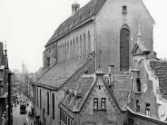 Wiederaufbau: Die verkürzte Barfüßerkirche