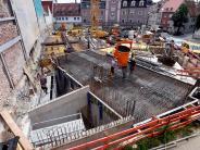 Augsburg: Die Festgesellschaft hat die Baustelle im Blick