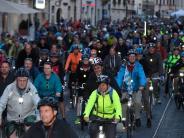 Bildergalerie: Radlnacht 2017: Tausende Fahrradfahrer auf Augsburgs Straßen