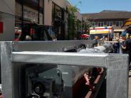 Augsburg: Seniorin bei Unfall am Stadtmarkt verletzt