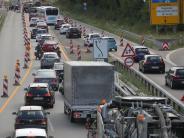 Augsburg: B17-Baustelle wird schon Donnerstag oder Freitag fertig
