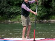 : Stand-up-Paddler will ans Schwarze Meer