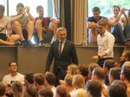 Augsburg: Was FDP-Chef Lindner an der Uni Augsburg erlebte