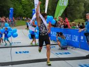 Bildergalerie: Der Kuhsee-Triathlon am Sonntag