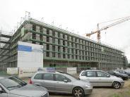 Augsburg: Rekordtempo für großen Forschungsbau