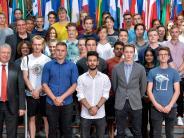 Besuch: Holbein-Schüler im Europaparlament