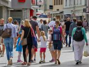 Augsburg: Mehr Passanten in der Fußgängerzone