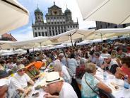 Augsburg: Über 1000 Menschen feiern Friedensfest - mit einem Zwischenfall