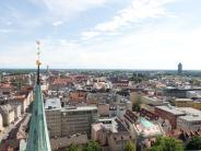 Video und Bilder: Faszinierende Rundum-Blicke vom Augsburger Domturm