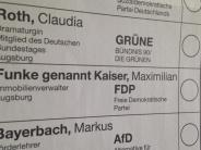 Bundestagswahl: Der kleine, aber feine Unterschied