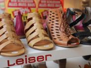 Augsburg: Nur noch wenige Tage: Schuhhaus Leiser in der Annastraße schließt