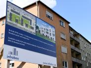 Augsburg: Bautafel signalisiert: Das Warten hat ein Ende