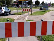 Augsburg: Nach tödlichem Unfall: Radweg in Oberhausen komplett gesperrt