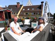 Augsburg: Diese Dachterrasse ist die Riviera an der Maximilianstraße