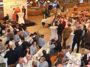 Augsburg: Wirtschaftstreff: Geselliges Beisammensein mit ernsten Tönen