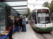 Augsburg: An der Hochschule steht die erste papierlose Haltestelle Augsburgs