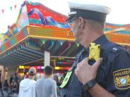 Augsburg: Test der Polizei: Bewähren sich Bodycams auf dem Plärrer?