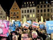 Augsburg: Polizei rechnet mit Protest bei Merkels Bierzelt-Auftritt