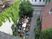 Augsburg: Grüne Oasen in Augsburg: Dieser Innenhof ist ein Star in der Altstadt