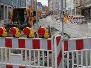 Augsburg: Bäckergasse wird für den Verkehr gesperrt