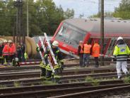 Verkehr: Zugunglück endet glimpflich