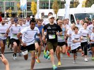Augsburg: Sport im Park: Sheridan-Meilen in Pfersee