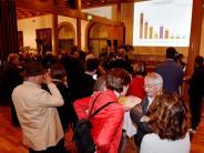 Bundestagswahl in Augsburg: Wahlabend im Augsburger Rathaus